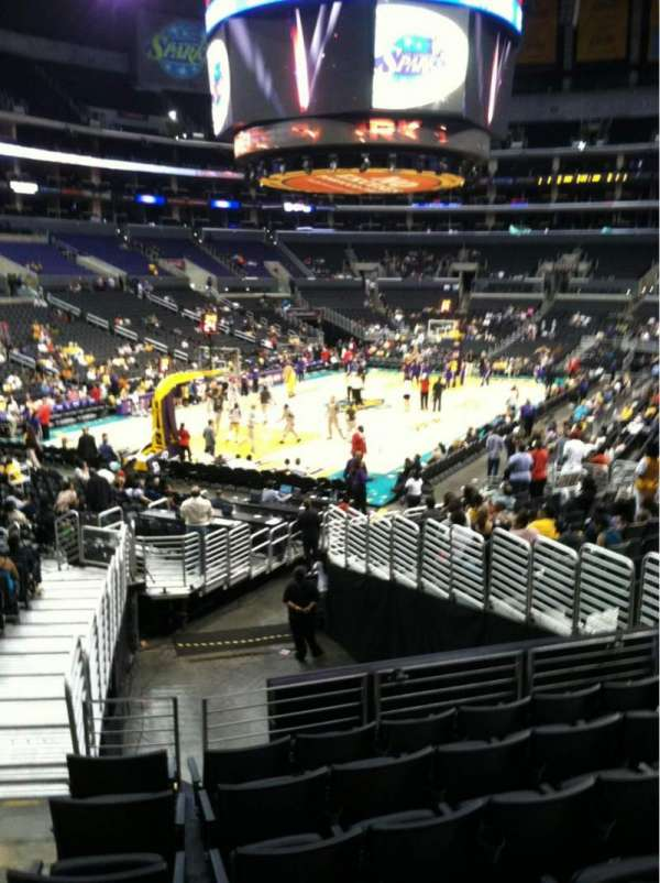 Staples Center, section: 114, row: 20, seat: 33