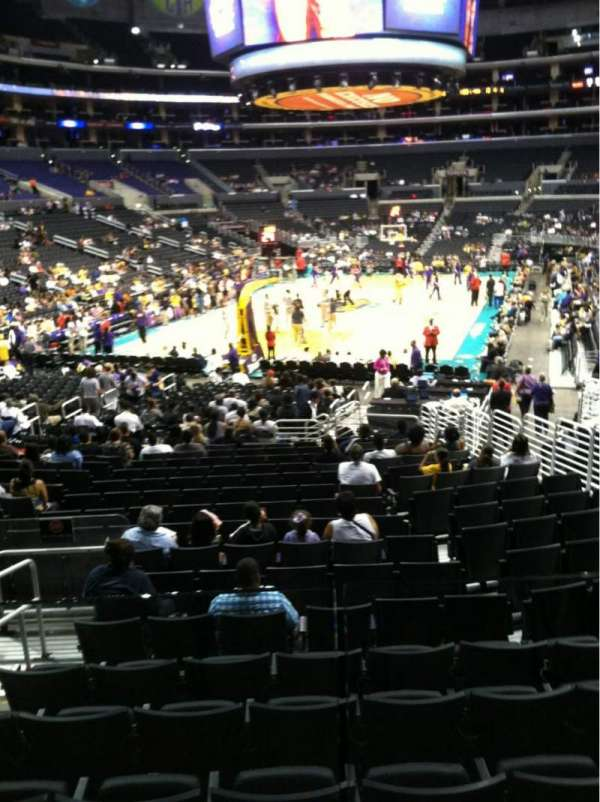 Staples Center, section: 115, row: 18, seat: 10