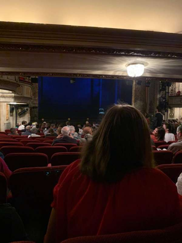 Cort Theatre, section: Orchestra L, row: P, seat: 19