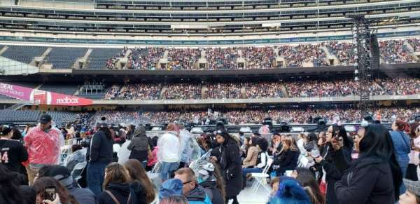 Soldier Field, section: B5, row: 6, seat: 10