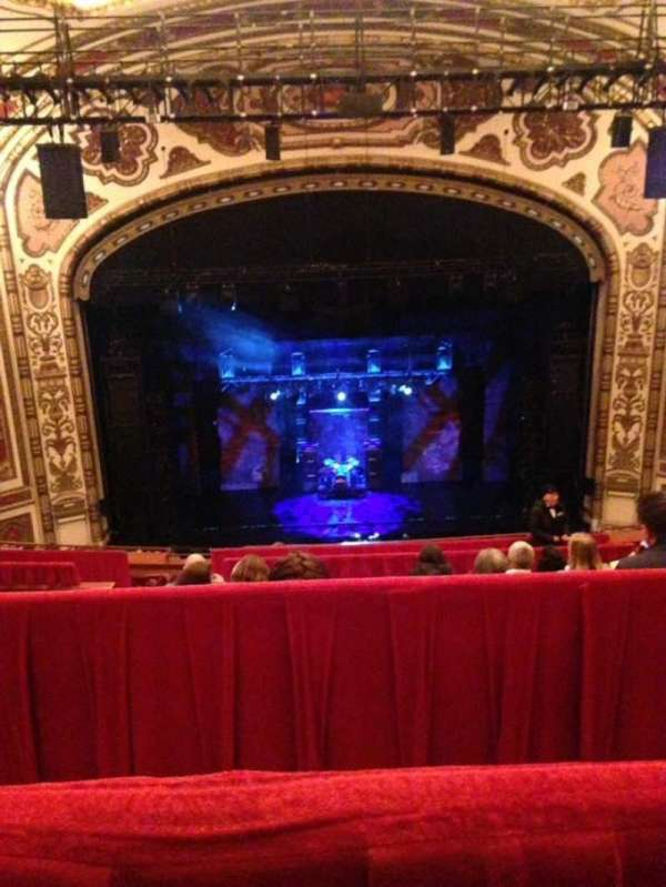 Cadillac Palace Theater, section: Balcony C, row: L, seat: 312