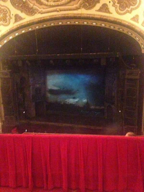 Cadillac Palace Theater, section: Balcony RC, row: D, seat: 327