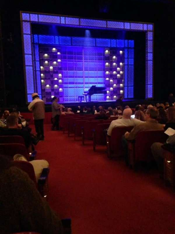 Cadillac Palace Theater, section: Orchestra L, row: O, seat: 1