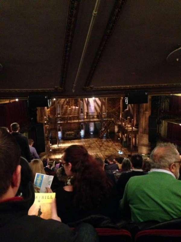 CIBC Theatre, section: Mezzanine LC, row: M, seat: 321