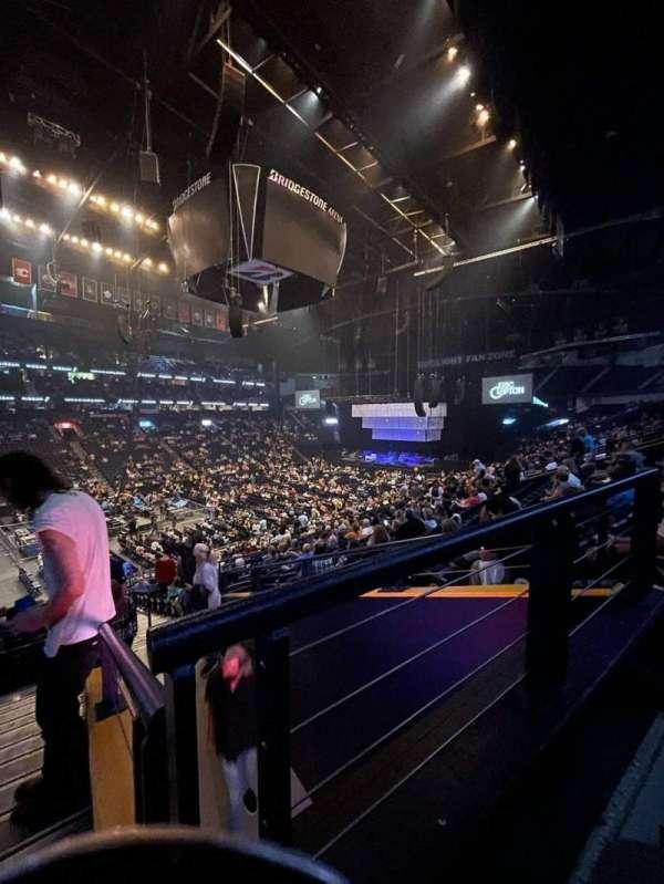 Bridgestone Arena, section: 104, row: P, seat: 26