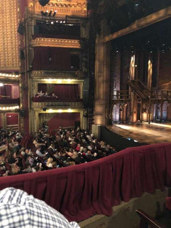 CIBC Theatre, section: Dress Circle R Bx 2, row: BX2, seat: 216