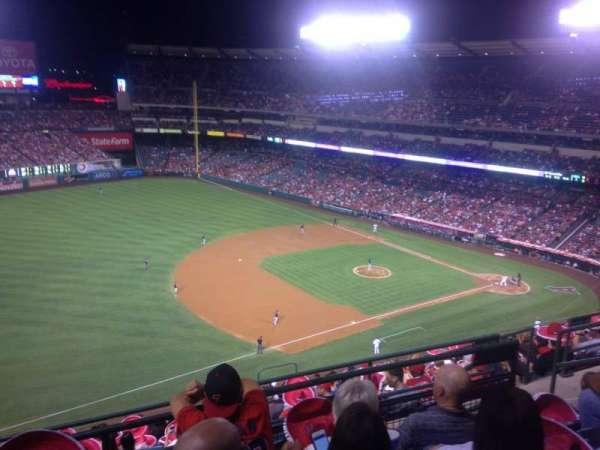 Angel Stadium, section: 510, row: D, seat: 19