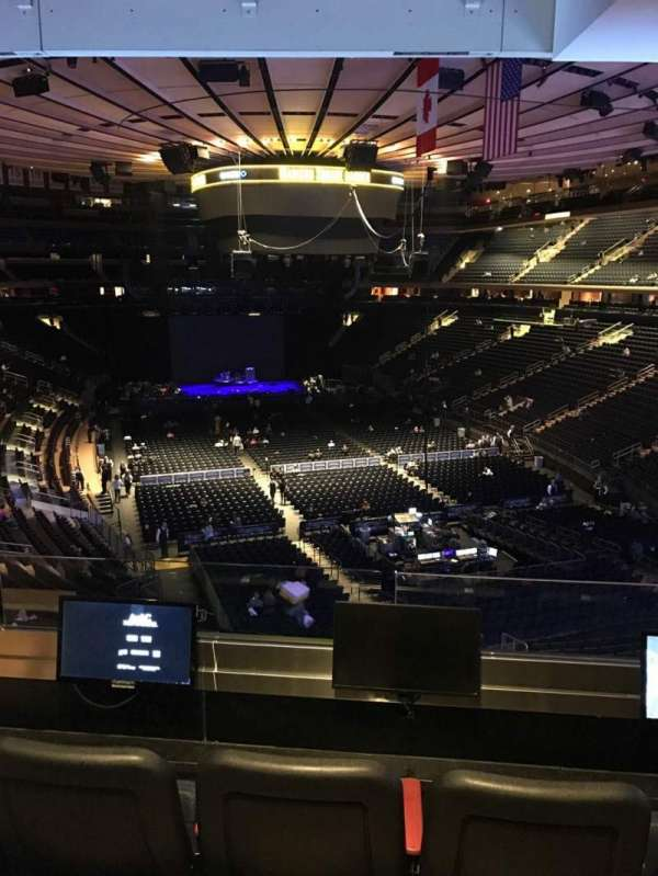 Madison Square Garden, section: 203, row: 3, seat: 3