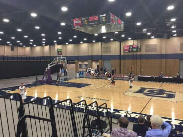 Mashburn Arena, section: 6, row: JJ, seat: 11