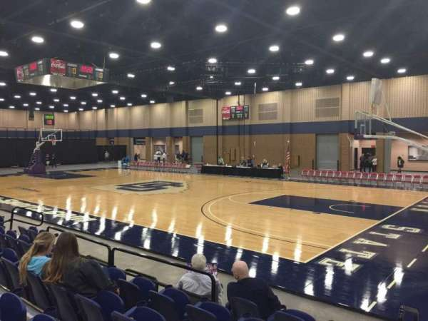 Mashburn Arena, section: 4, row: FF, seat: 6