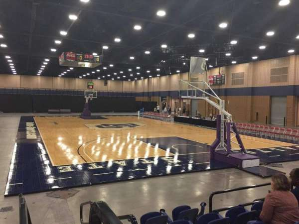 Mashburn Arena, section: 3, row: FF, seat: 1
