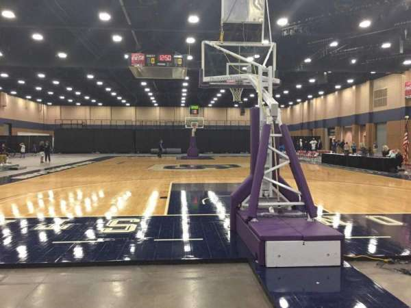 Mashburn Arena, section: 2, row: AA, seat: 3