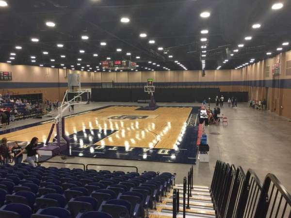 Mashburn Arena, section: 1, row: NN, seat: 1