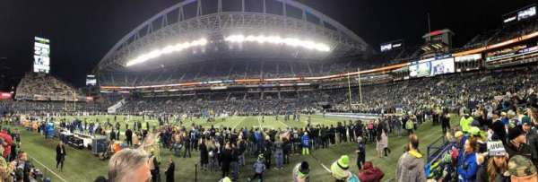 CenturyLink Field, section: 133, row: C, seat: 2