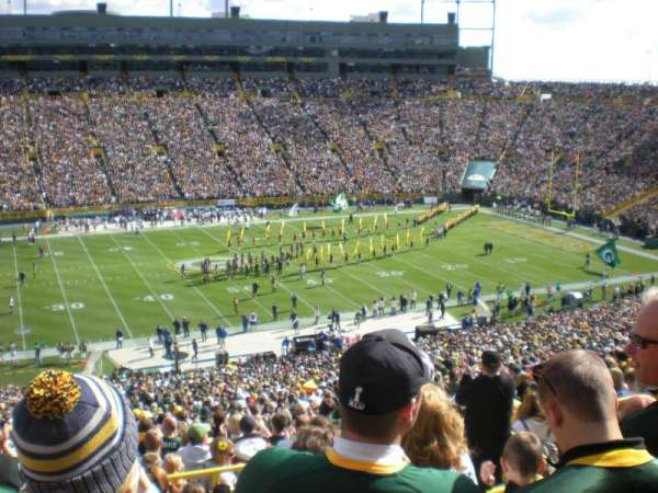 Lambeau Field, section: 322, row: 6, seat: 10