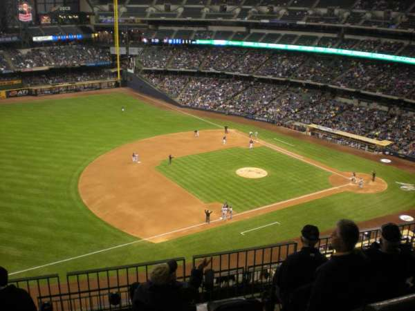 Miller Park, section: 432, row: 17, seat: 1