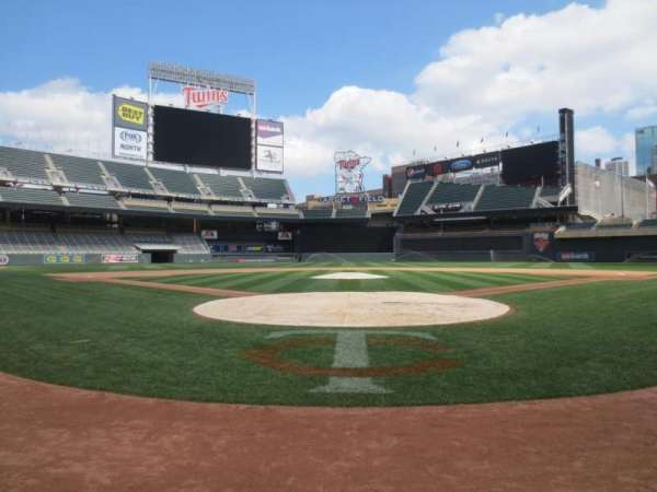 Target Field, section: Champions Club 9