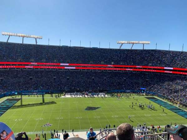 Bank of America Stadium, section: 516, row: 6, seat: 5