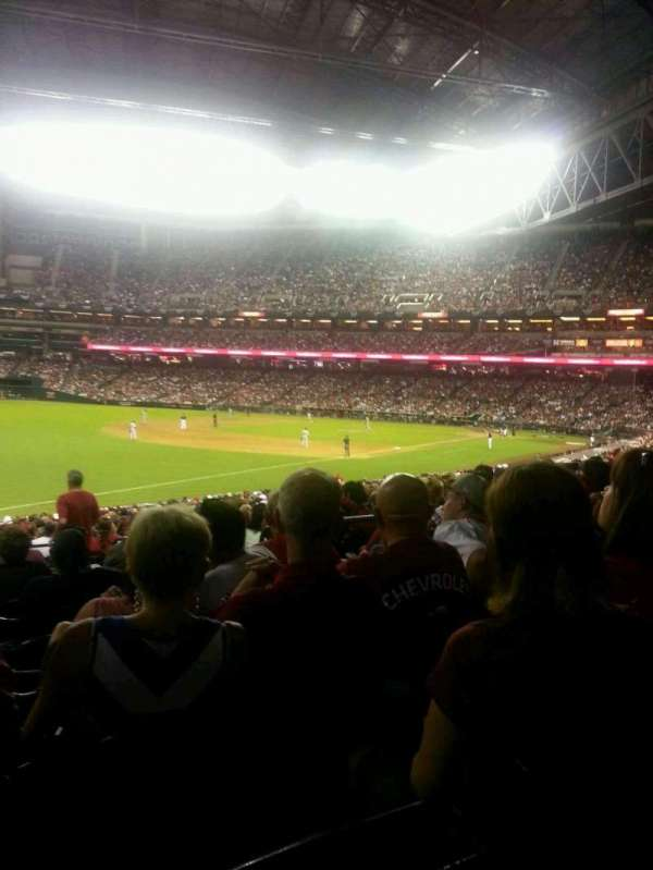 Chase Field, section: 134, row: 32, seat: 7 and 8