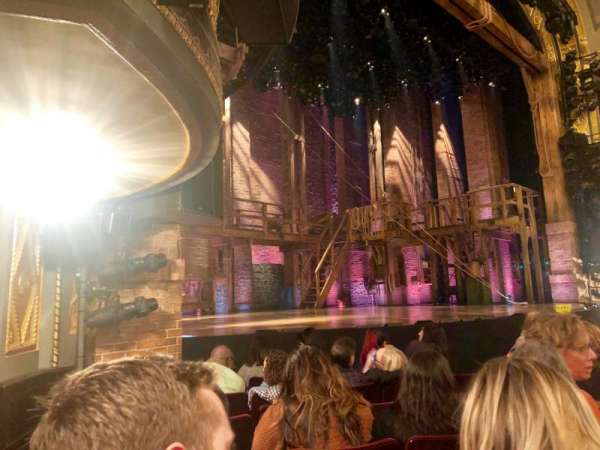 Richard Rodgers Theatre, section: Orchestra L, row: F, seat: 21