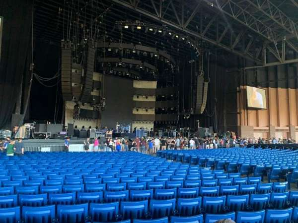 Sunlight Supply Amphitheater, section: 103, row: CC, seat: 11