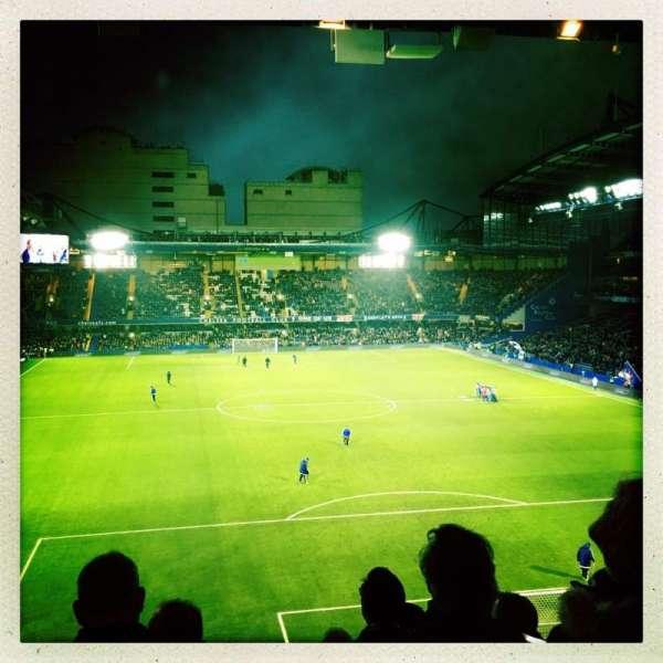 Stamford Bridge, section: Matthew Harding Upper 13, row: K, seat: 109