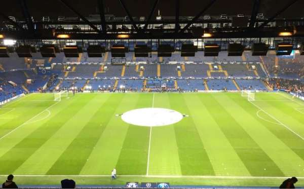 Stamford Bridge, section: WEST STAND UPPER 4, row: 14, seat: 106