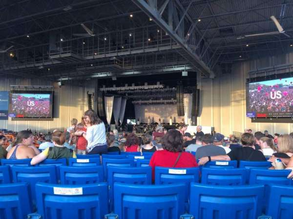 PNC Music Pavilion, section: 5, row: Q, seat: 33