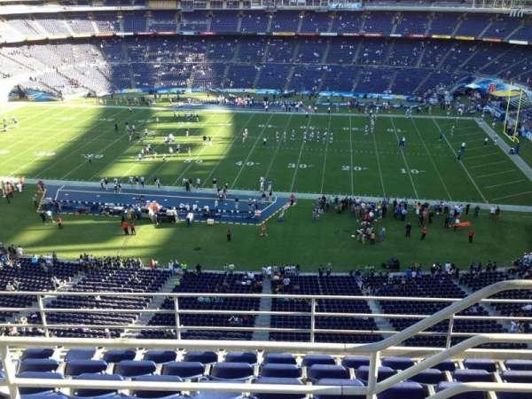 San Diego Stadium, section: V8, row: 6, seat: 19