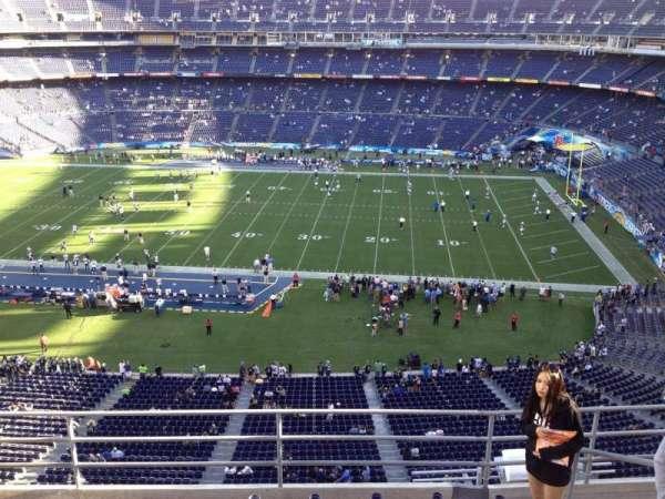 San Diego Stadium, section: V9, row: 5, seat: 6