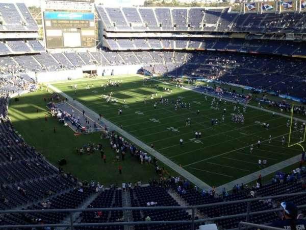 San Diego Stadium, section: V15, row: 5, seat: 5