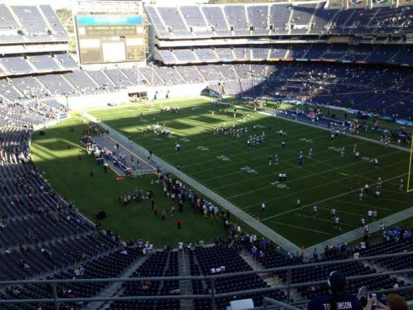 San Diego Stadium, section: V15, row: 5, seat: 6