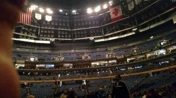KeyBank Center, section: fl 1, row: 15, seat: 11