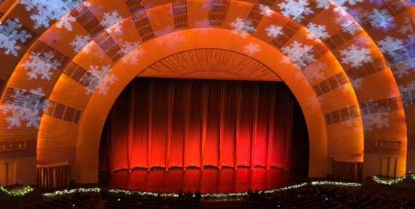 Radio City Music Hall, section: 2nd Mezzanine 5, row: B, seat: 509