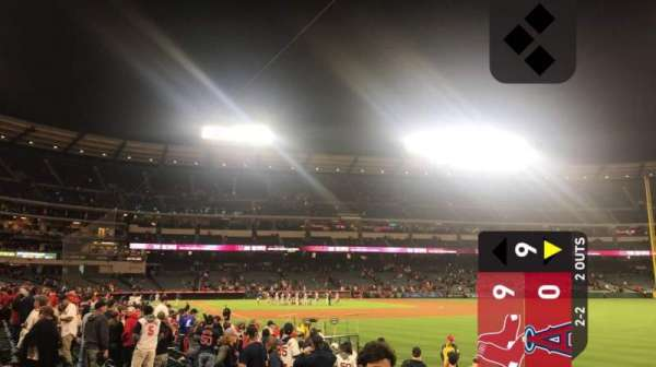 Angel Stadium, section: F131, row: J, seat: 3