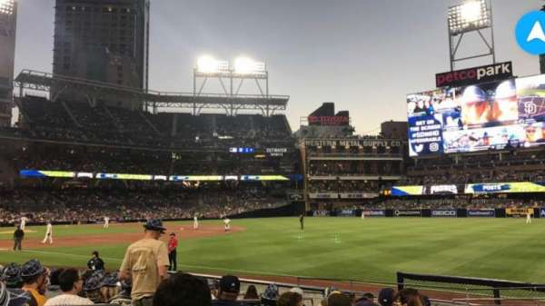 PETCO Park, section: 119, row: 16, seat: 1