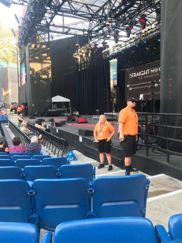 Pacific Amphitheatre, section: 1, row: B, seat: 17
