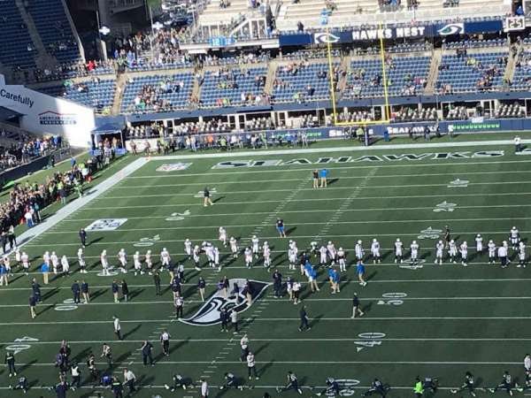 CenturyLink Field, section: 319, row: M, seat: 18