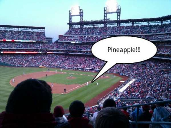 Citizens Bank Park, section: 234, row: 10, seat: 04