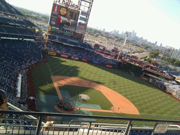 Citizens Bank Park, section: 418, row: 12, seat: 27