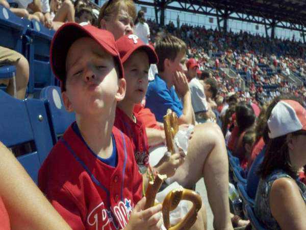 Citizens Bank Park, section: 303, row: 5, seat: 3