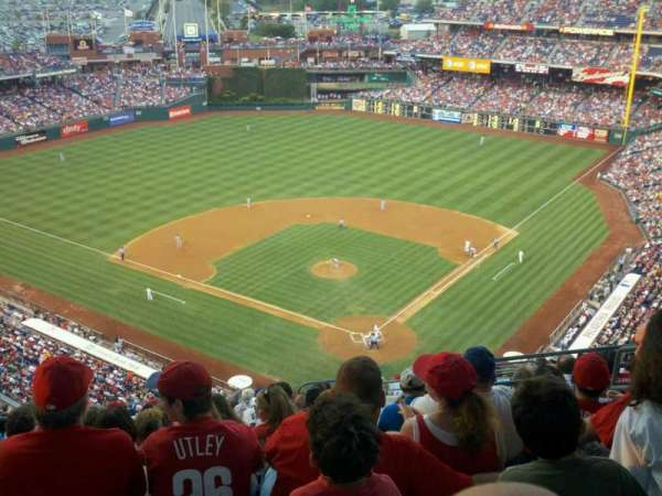 Citizens Bank Park, section: 422, row: 16, seat: 6