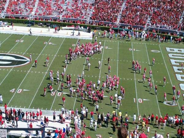 Sanford Stadium, section: 329, row: 12, seat: 25