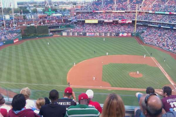 Citizens Bank Park, section: 228, row: 4, seat: 12