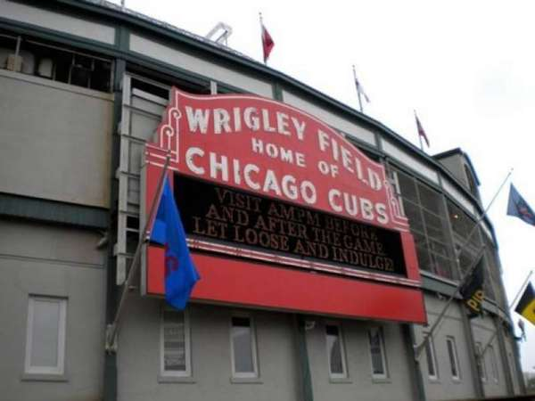 Wrigley Field, section: Marquee Gate