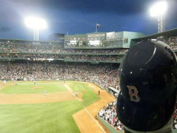 Fenway Park, section: Green Monster 2, row: 2, seat: 8