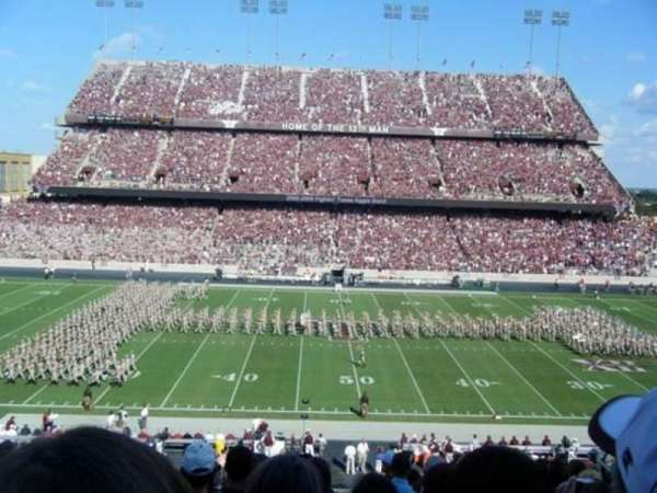 Kyle Field, section: 106