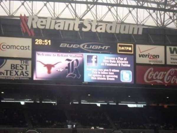 NRG Stadium, section: 120, row: BB, seat: 3