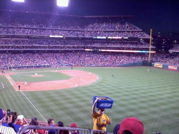 Citizens Bank Park, section: 206, row: 8, seat: 22
