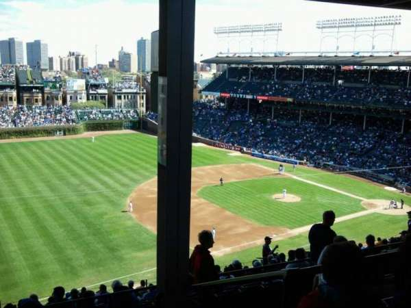 Wrigley Field, section: 407L, row: 5, seat: 20
